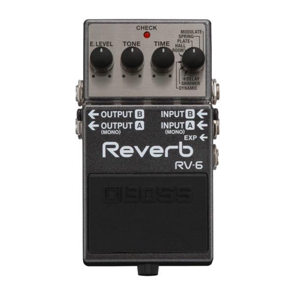 PEDALE BOSS REVERB RV-6