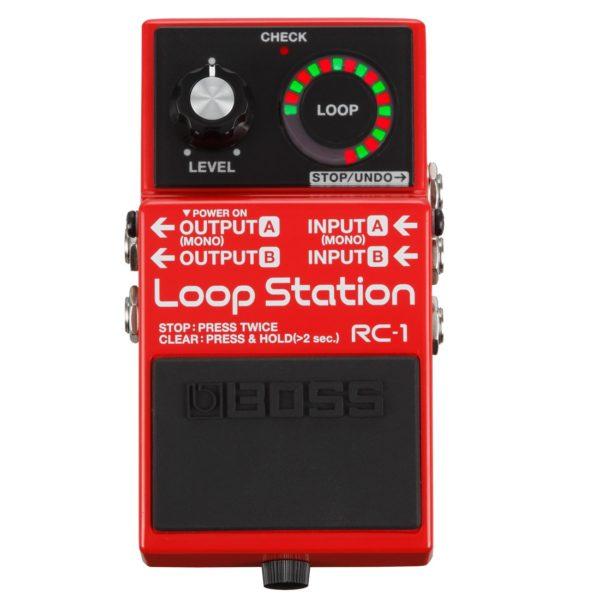 PEDALE BOSS RC-1 LOOP STATION REGISTRATORE (1)