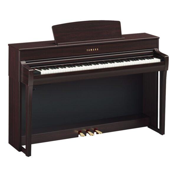 Pianoforte Digitale YAMAHA CLP-745 R Dark Rosewood Clavinova Palissandro